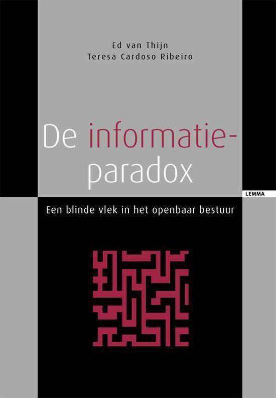De Informatieparadox - Ed van Thijn |