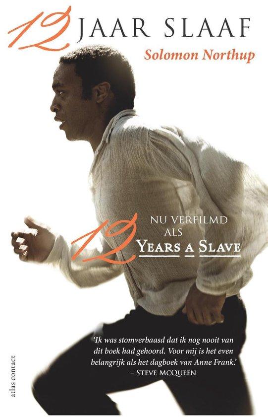Cover van het boek '12 jaar slaaf' van Solomon Northup