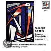 Enescu: Romanian Rhapsody no 1, Suites no 2 & 3 / Mandeal