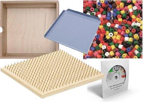 Afbeelding van het spel Kralenplank starterset hout