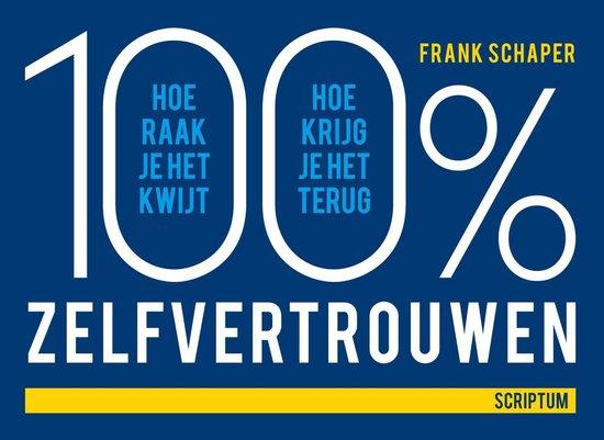 Cover van het boek '100procent zelfvertrouwen' van Frank Schaper