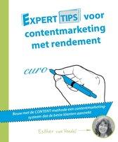 Experttips boekenserie - Experttips voor contentmarketing met rendement