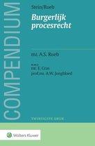 Boek cover Compendium van het burgerlijk procesrecht van A.S. Rueb (Paperback)