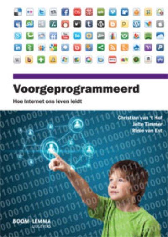 Cover van het boek 'Voorgeprogrammeerd'
