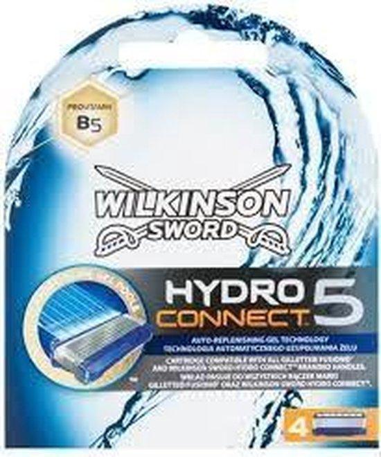 Wilkinson Scheermesjes - Hydro 5 Connect 4 Stuks