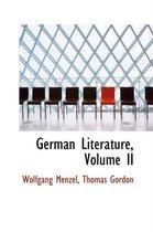 German Literature, Volume II