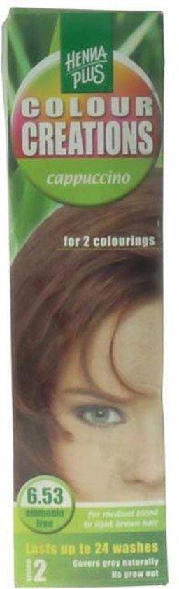 Hennaplus Colour Creations 6.53 Cappucino