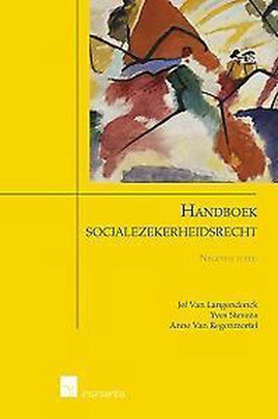 Handboek socialezekerheidsrecht 9de ed. - Jef van Langendonck |