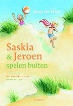 Saskia en Jeroen - Saskia en Jeroen spelen buiten