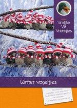 DIY wolvilt pakket: Winter vogeltjes