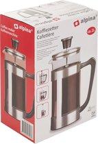 Alpina - Koffiezetter 1L RVS/glas