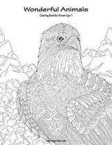 Wonderful Animals Coloring Book for Grown-Ups 1