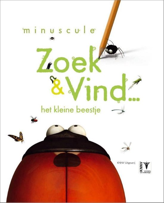 Zoek & Vind… het kleine beestje. Minuscule stickerboek - Tialda Hoogeveen  