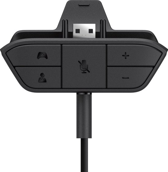 Microsoft Xbox One Stereo Gaming Headset Adapter - Zwart - Microsoft