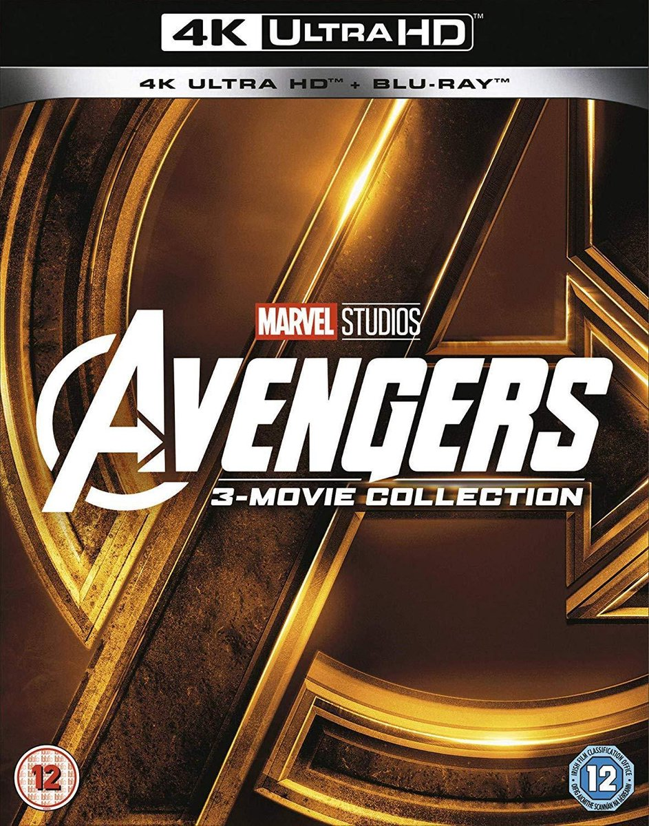 Avengers Collection 1-3 (Ultra HD 4K + blu-ray) (Import)-
