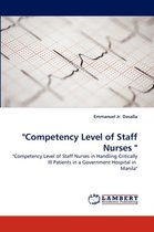 Competency Level of Staff Nurses
