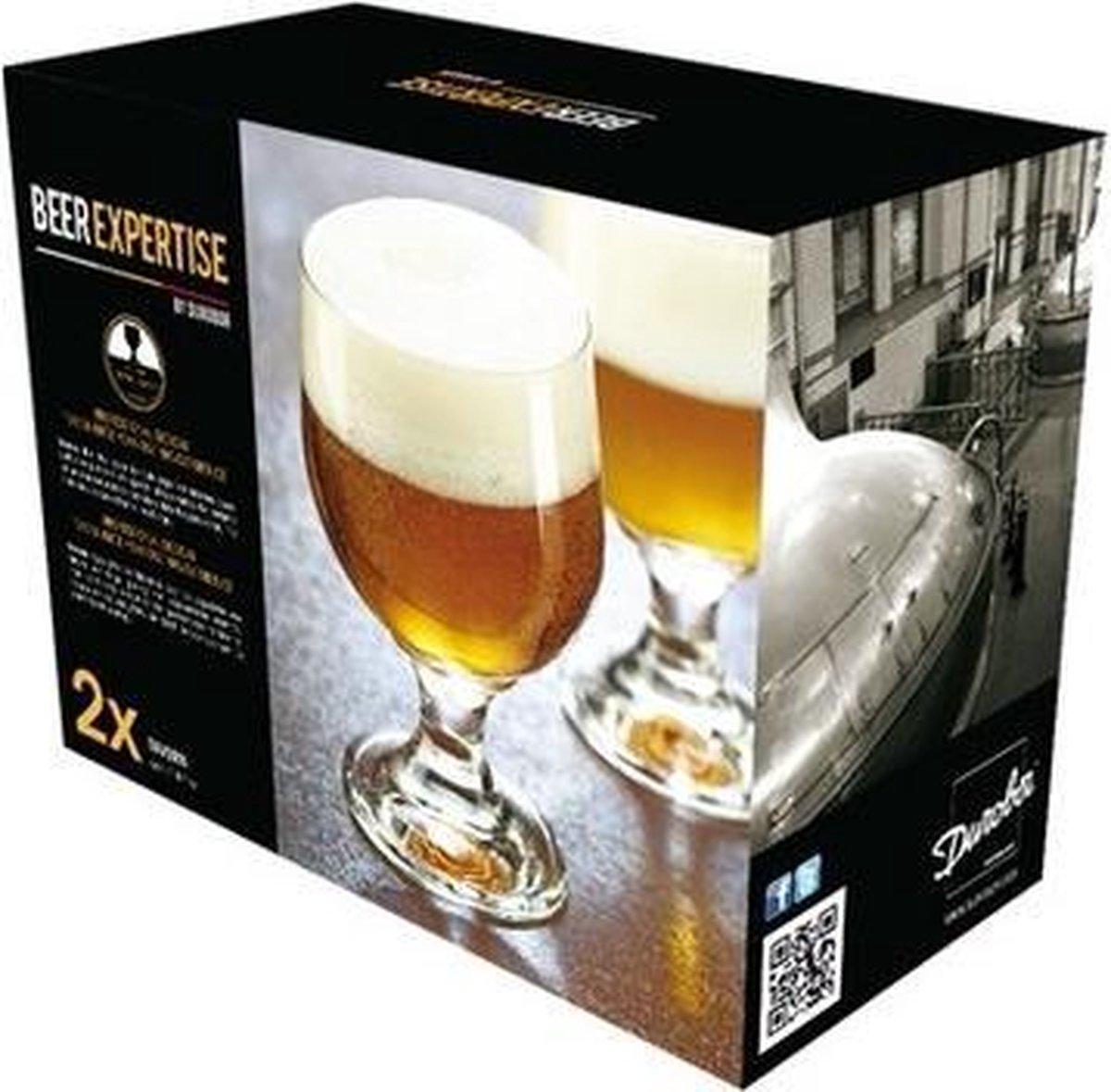 2x speciaal bierglazen - 480 ml - bok bier glazen - Merkloos