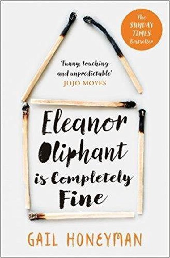 Omslag van Eleanor Oliphant is Completely Fine