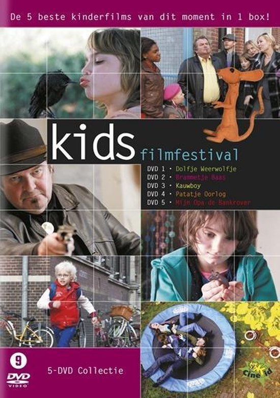 Cover van de film 'Cinekid Box'