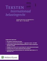 Teksten internationaal belastingrecht 2015/2016