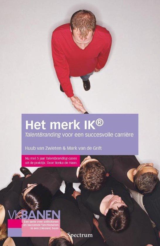 Cover van het boek 'Het merk ik'
