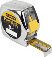 STANLEY Rolbandmaat Powerlock 8m - 25mm