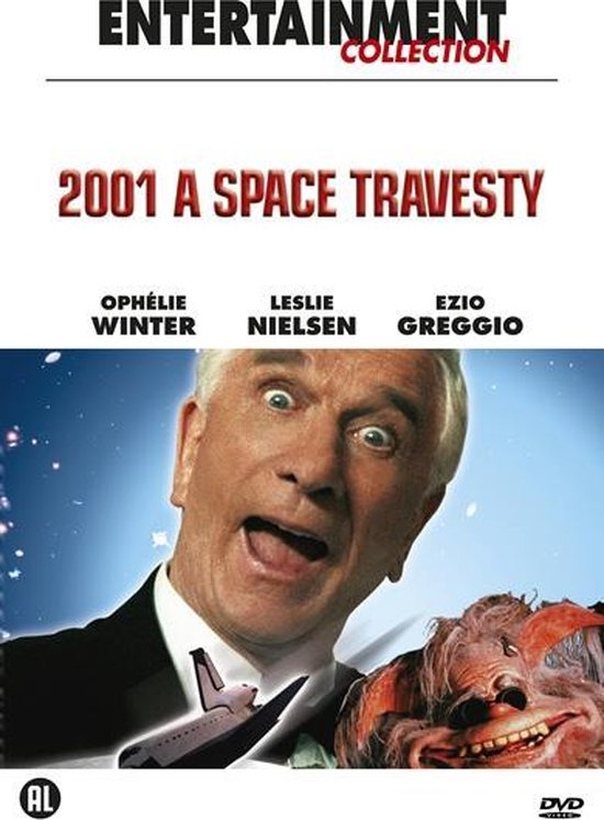 Cover van de film '2001 - A Space Travesty'