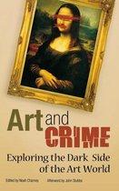 Boek cover Art and Crime van