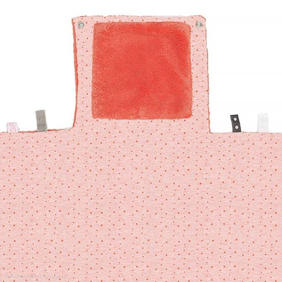 Snoozebaby Changing pad Easy Changing - Sunset Coral - 50x70cm - Verschoonmatje