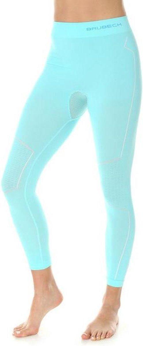 Brubeck | Dames Thermobroek - Thermokleding - met Nilit® Innergy - Lichtblauw - XL