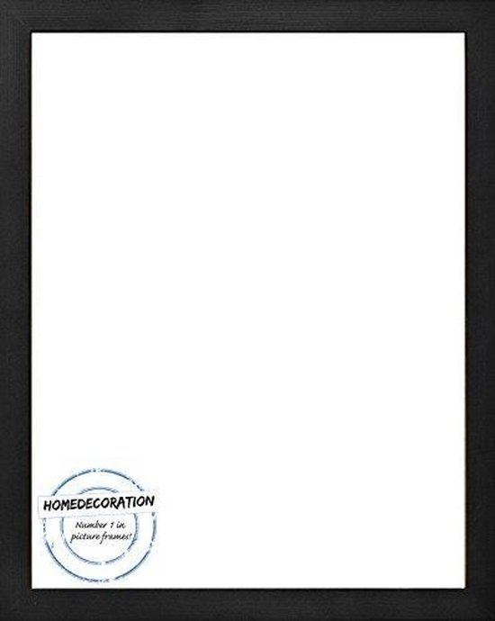 Homedecoration Misano – Fotolijst – Fotomaat – 53 x 71 cm  – Zwart houtnerf