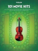 Boek cover 101 Movie Hits for Violin van Hal Leonard Publishing Corporati