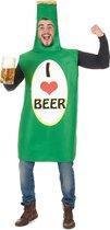 LUCIDA - Bierfles kostuum voor volwassenen - Volwassenen kostuums