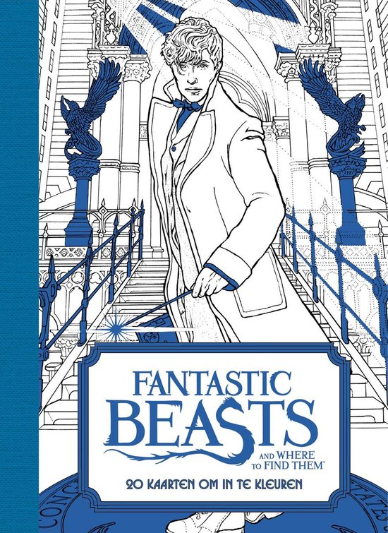 Fantastic Beasts and Where to Find Them - 20 kaarten om in te kleuren - none |