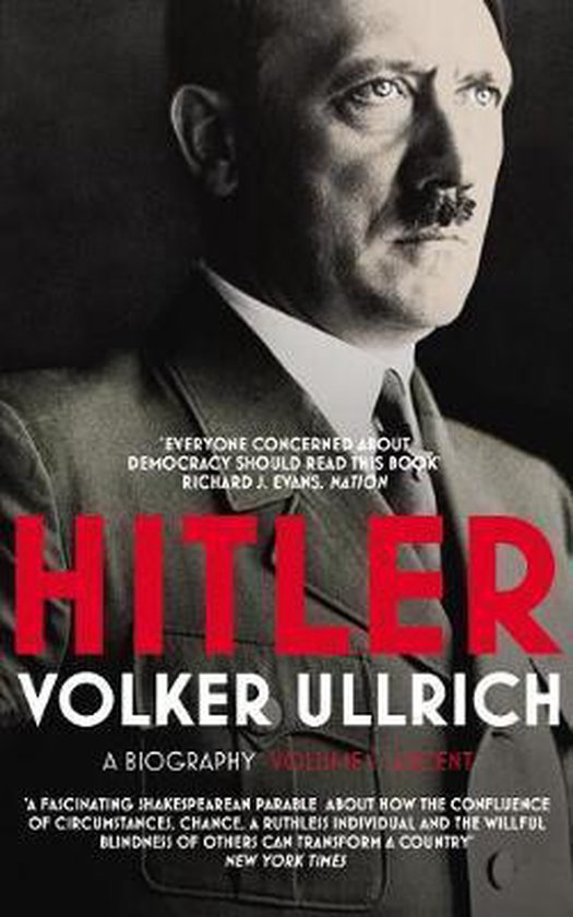 Boek cover Hitler: Volume I van Volker Ullrich (Paperback)