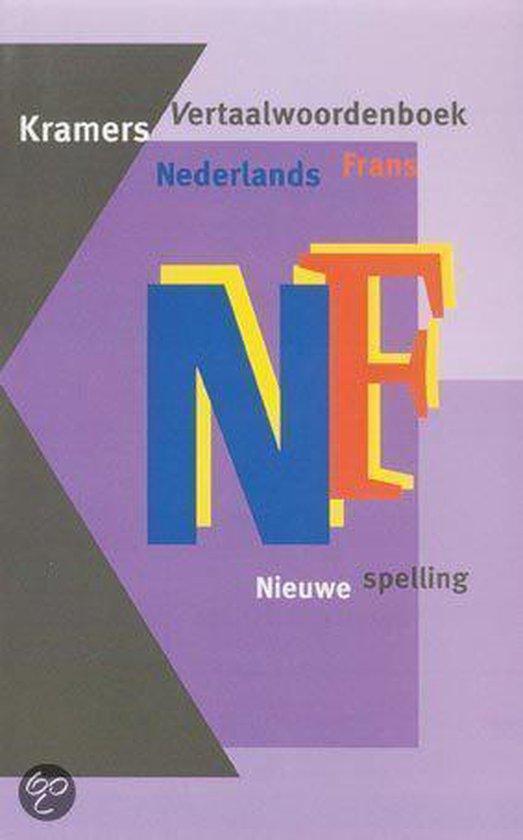 Nederlands-Frans Kramers vertaalwoordenboek