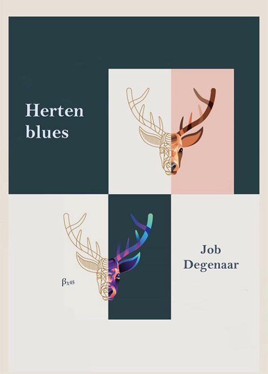Bordeauxreeks 45 - Hertenblues - Job Degenaar |