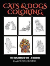 Relaxation Coloring Book (Cats and Dogs)