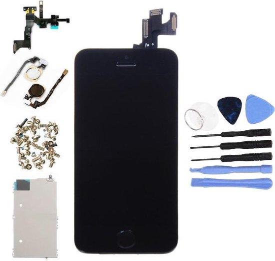 Voor Apple iPhone 5S - AA+ Voorgemonteerd LCD scherm Zwart & Tools