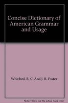 Concise Dictionary of American Grammar and Usage