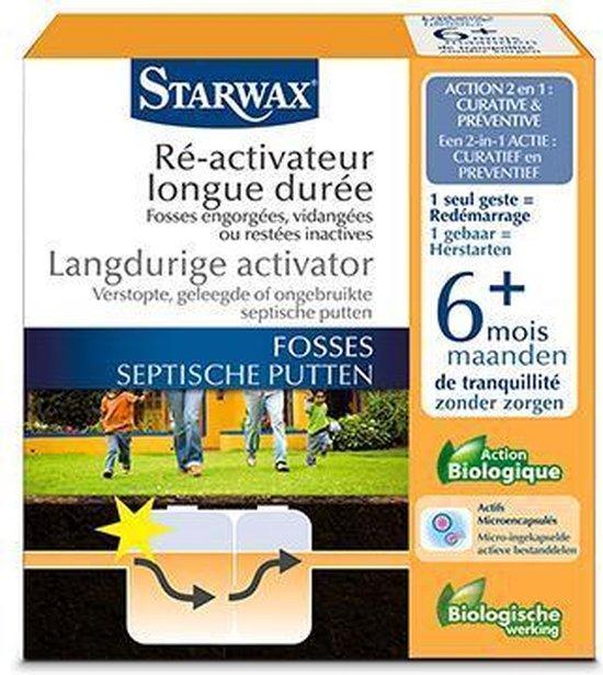 Starwax langdurige activator 'Septische Putten' 500 g