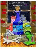 Heather Valentin's Spooktacular Greatest Hits Coloring Book