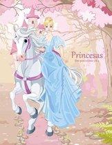 Princesas Libro Para Colorear 3 & 4