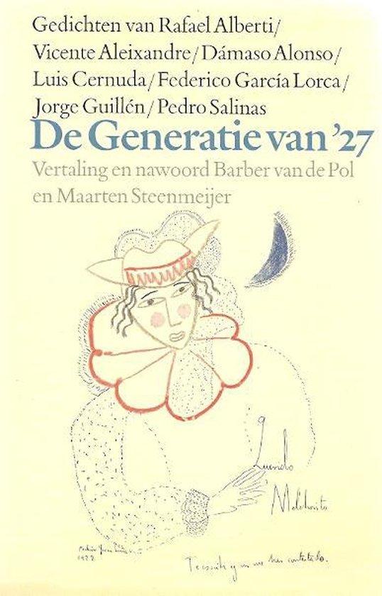 Generatie van '27 - Tweetalige editie - Barber van de Pol |