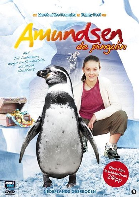 Cover van de film 'Amundsen De Pinguin'