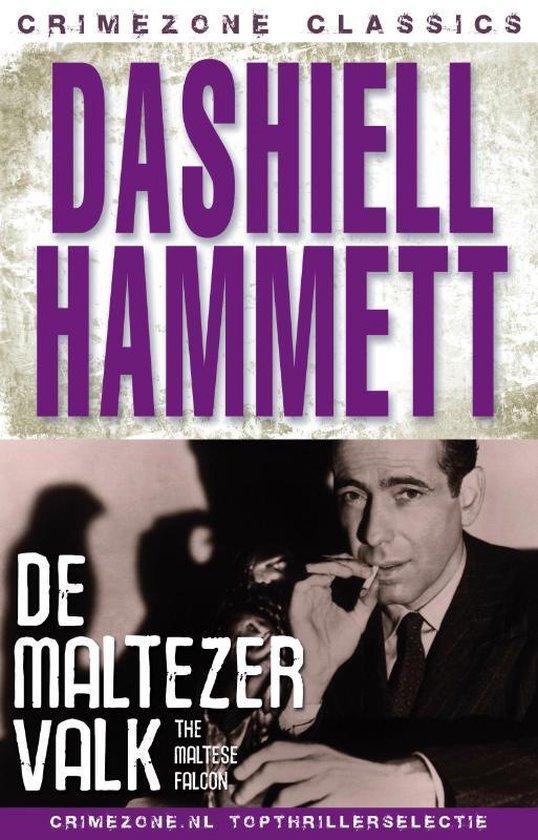 Cover van het boek 'De Maltezer valk' van Dashiell Hammett