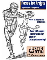 Poses for Artists Volume 1 - Dynamic and Sitting Poses