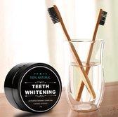 Natural Teeth Whitening - Tandenbleekset - Inclusief 1 Bamboe Tandenborstel