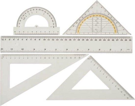 Afbeelding van Liniaal Set 5 stuks