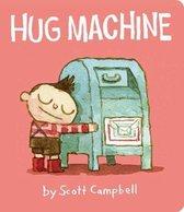Boek cover Hug Machine van Scott Campbell